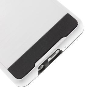 Hybridní gelové/plastové pouzdro na Samsung Galaxy A5 - bílé - 4
