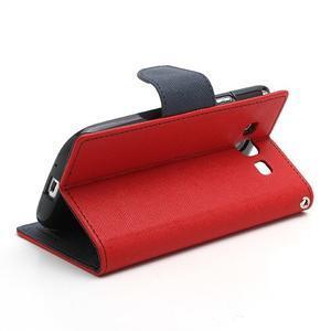 Mr. Fancy koženkové pouzdro na Samsung Galaxy S3 - červené - 4