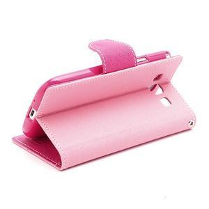 Mr. Fancy koženkové pouzdro na Samsung Galaxy S3 - růžové - 4