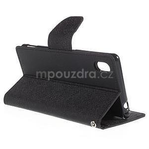 Ochranné pouzdro na Sony Xperia M4 Aqua - černé - 4