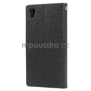 Peněženkové pouzdro na mobil Sony Xperia Z3 - černé - 4