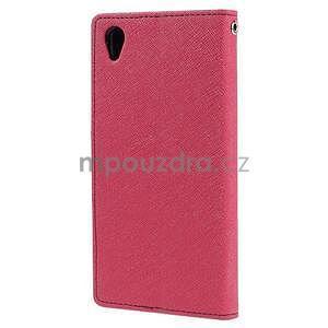 Peněženkové pouzdro na mobil Sony Xperia Z3 - rose - 4