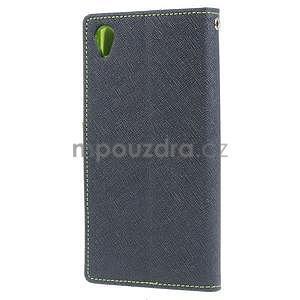 Peněženkové pouzdro na mobil Sony Xperia Z3 - tmavěmodré - 4