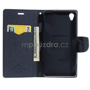Peněženkové pouzdro na mobil Sony Xperia Z3 - fialové - 4