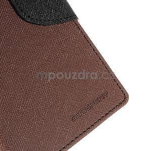 Peněženkové pouzdro na mobil Sony Xperia Z3 - hnědé - 4