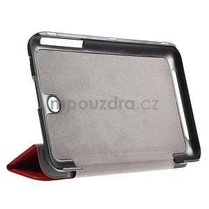 Supreme polohovatelné pouzdro na tablet Asus Memo Pad 7 ME176C - červené - 4