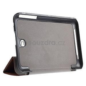 Supreme polohovatelné pouzdro na tablet Asus Memo Pad 7 ME176C - hnědé - 4