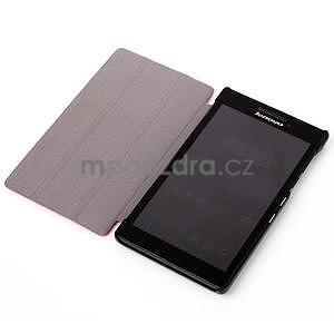 Polohovatelné pouzdro na tablet Lenovo Tab 2 A7-10 -  hnědé - 4