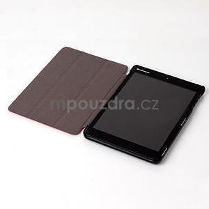 "Tří polohové pouzdro na tablet Lenovo IdeaTab Miix 3 8"" - červené - 4"