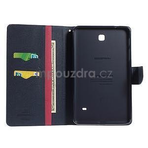 Rose peněženkové pouzdro Goospery na tablet Samsung Galaxy Tab 4 8.0 - 4