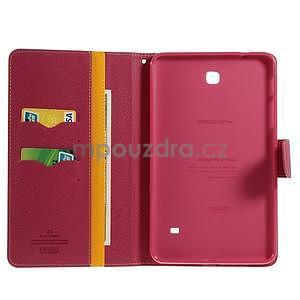 Žluté peněženkové pouzdro Goospery na tablet Samsung Galaxy Tab 4 8.0 - 4
