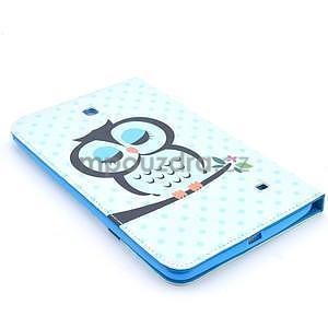 Pouzdro na tablet Samsung Galaxy Tab 4 8.0 - sovičky - 4
