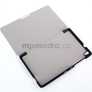 Černé pouzdro na tablet Lenovo S8-50 s funkcí stojánku - 4
