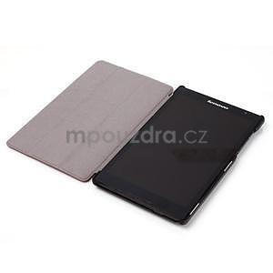 Světle modré pouzdro na tablet Lenovo S8-50 s funkcí stojánku - 4