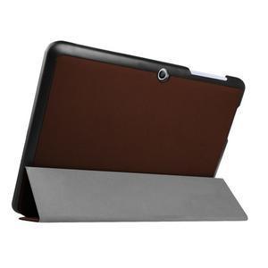 Třípolohové pouzdro na tablet Acer Iconia One 10 B3-A20 - hnědé - 4