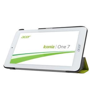 Trifold polohovatelné pouzdro na tablet Acer Iconia One 7 B1-770 - zelené - 4