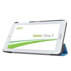 Trifold polohovatelné pouzdro na tablet Acer Iconia One 7 B1-770 - světlemodré - 4
