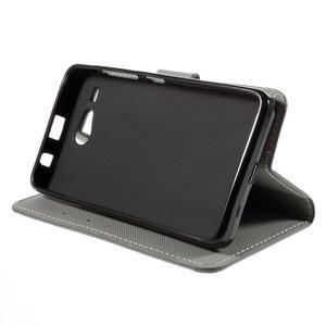 Nice koženkové pouzdro na mobil Acer Liquid Z520 - kotva - 4