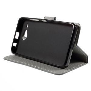 Nice koženkové pouzdro na mobil Acer Liquid Z520 - sovička - 4