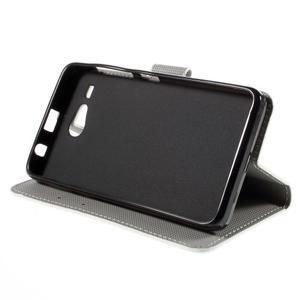 Nice koženkové pouzdro na mobil Acer Liquid Z520 - sloni - 4
