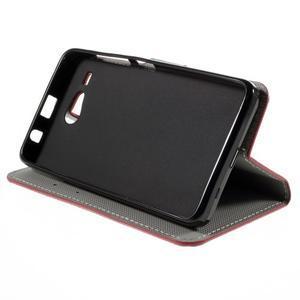 Nice koženkové pouzdro na mobil Acer Liquid Z520 - US vlajka - 4