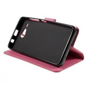Nice koženkové pouzdro na mobil Acer Liquid Z520 - motýlci - 4