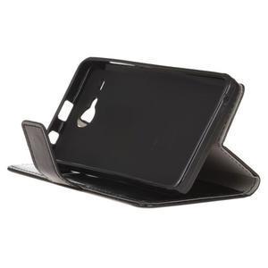 Stanley PU kožené pouzdro na Acer Liquid Z520 - černé - 4