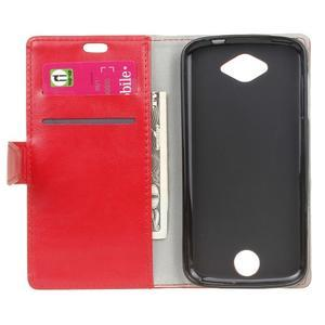 Pouzdro na mobil Acer Liquid Z530 - červené - 4
