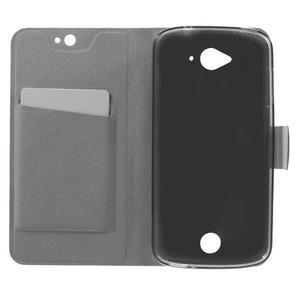 Horse peněženkové pouzdro na mobil Acer Liquid Z530 - modré - 4