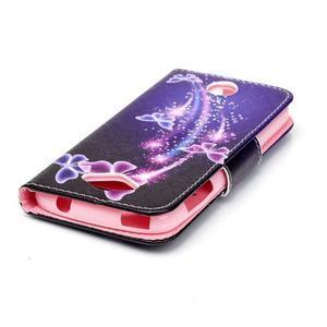 Luxy peněženkové pouzdro na Acer Liquid Z530 - kouzelní motýlci - 4