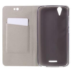 Klopové pouzdro na mobil Acer Liquid Z630 - šedé - 4