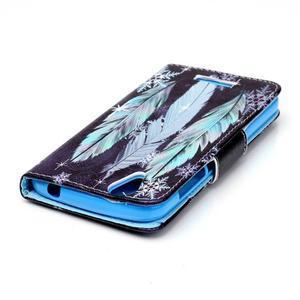 Peněženkové pouzdro na mobil Acer Liquid Z630 - peříčka - 4