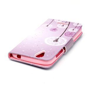 Peněženkové pouzdro na mobil Acer Liquid Z630 - pampelišky - 4