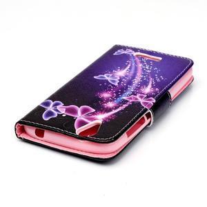 Peněženkové pouzdro na mobil Acer Liquid Z630 - kouzelní motýlci - 4