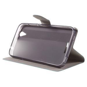 Horse peněženkové pouzdro na Acer Liquid Z630 - modré - 4