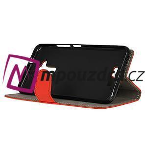 Glory peněženkové pouzdro na Asus Zenfone 3 Max - červené - 4