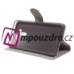 Horse PU kožené pouzdro na Asus Zenfone 3 Max ZC553KL - rose - 4