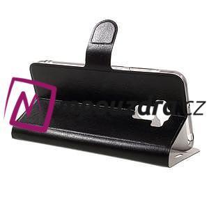 Horse PU kožené pouzdro na Asus Zenfone 3 Max ZC553KL - černé - 4