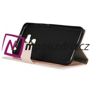Peněženkové pouzdro na Asus Zenfone 3 Max ZC553KL - růžové - 4