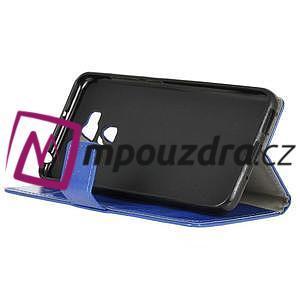Peněženkové pouzdro na Asus Zenfone 3 Max ZC553KL - modré - 4