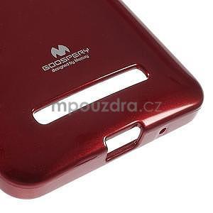 Tmavě červený gelový obal na Asus Zenfone 5 - 4