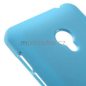 Gelový obal na Asus Zenfone 5 - světle modrý - 4