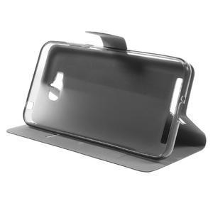 Horse peněženkové pouzdro na Asus Zenfone Max - černé - 4