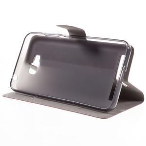 Horse peněženkové pouzdro na Asus Zenfone Max - rose - 4