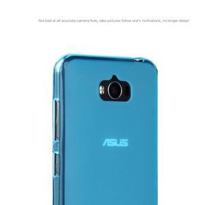 Matný gelový obal na Asus Zenfone Max - modrý - 4