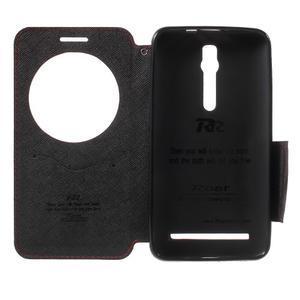 Diary peněženkové pouzdro s okýnkem na Asus Zenfone Max - červené - 4