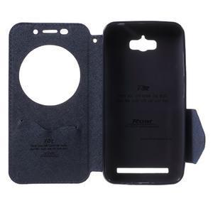 Diary peněženkové pouzdro s okýnkem na Asus Zenfone Max - fialové - 4