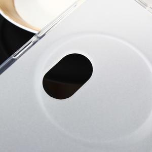 Gelový matný obal na mobil Asus Zenfone Zoom - bílý - 4