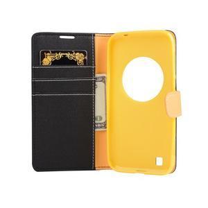 PU kožené pouzdro na Asus Zenfone Zoom - černé - 4