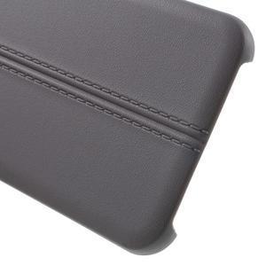 Lines gelové pouzdro na mobil HTC One A9 - šedé - 4